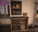 Serenity Style- Antique Kitchen (fatpack)
