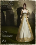The White Armory - Zihanna of Sheera Gown Set-Purity